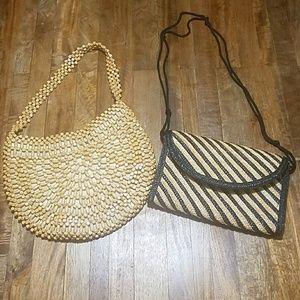 Two Vintage purses